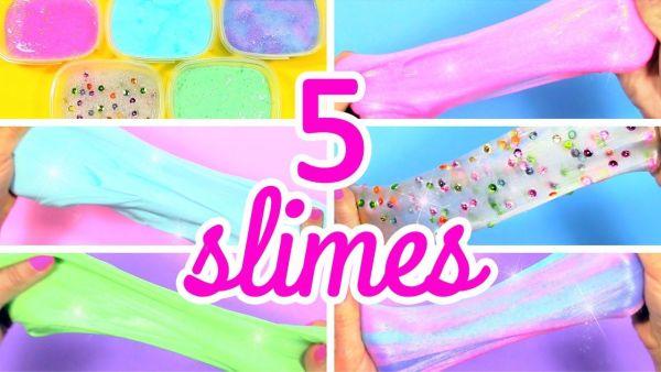 DIY 5 recetas fáciles para hacer SLIME casero(3)