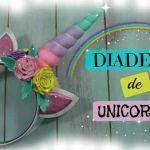 DIY Diadema unicornio en Goma Eva