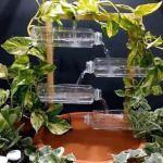 DIY Fuente con botellas de plástico