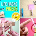 DIY hacks para utilizar pinzas de la ropa