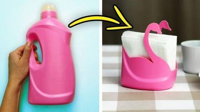 25 Manualidades para reciclar botellas de plástico