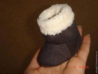 Patrón para hacer botas de muñeca 2