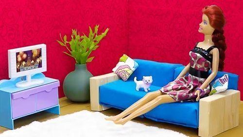 DIY Ideas para hacer muebles de muñecas
