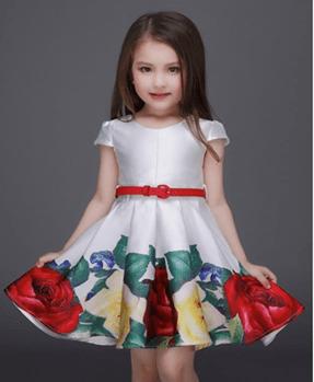 Patrones para vestido de niña talla 3 años 2