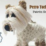 Patrones gratis para hacer un perro yorkshire