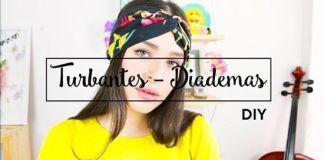 DIY Para hacer una diadema de moda turbante