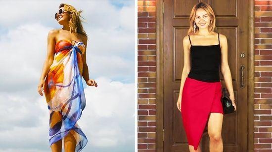 DIY 33 formas diferentes de llevar un sarong o pañuelo