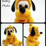 Patrones para hacer perro Pluto en amigurimi
