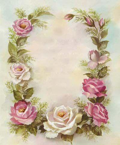 Láminas de flores para decoupage 3