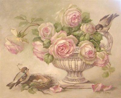 Láminas de flores para decoupage 8
