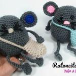 DIY Ratoncito Pérez hecho a crochet