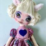 DIY+Patrón para hacer una muñeca de tela Zoe