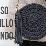 DIY para hacer un bolso redondo de trapillo