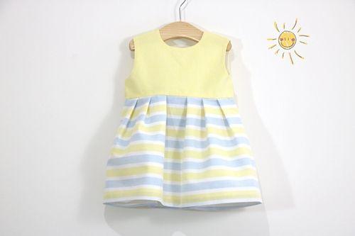 DIY+patrones vestido para niña de 2 a 8 años