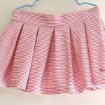 DIY+patrones para hacer una falda de tablas para niña