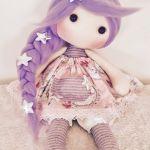 Patrón y tutorial para hacer muñeca de tela Lili