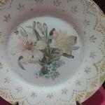 DIY decorar un plato con decoupage y una blonda