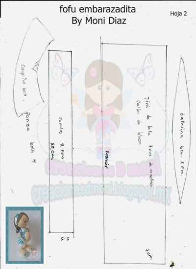Fofucha embarazada tutorial+patrones (4)