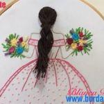 DIY para bordar paso a paso una muñeca