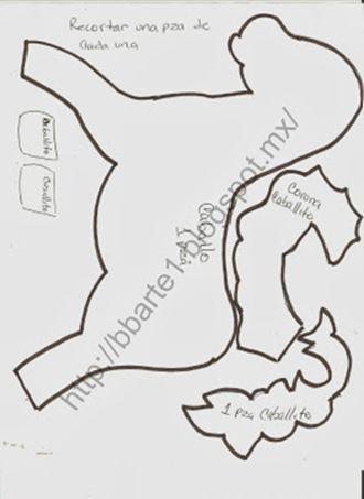 DIY+moldes para hacer un pie de arbol de navidad en fieltro (3)