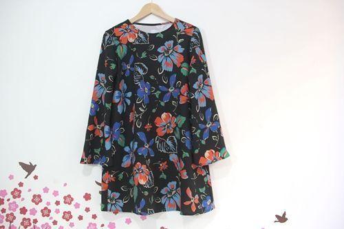 Patrón + tutorial para hacer un vestido para embarazada
