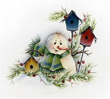 7 Láminas de decoupage para navidad (4)