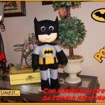 DIY para hacer a Batman en fieltro