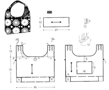 Tutorial + Patrones para hacer bolsos de patchwork(3)