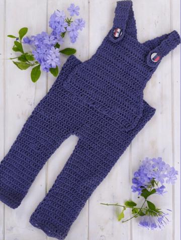 Peto entero a crochet para bebé
