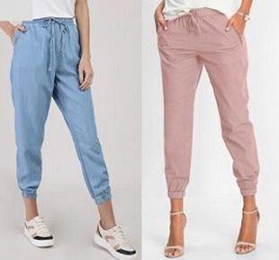 Pantalón Jogger elástico para mujer