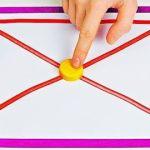 DIY divertidos Juegos caseros para niños y adultos