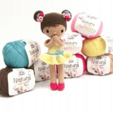 Muñeca Chloe amigurimi (3)