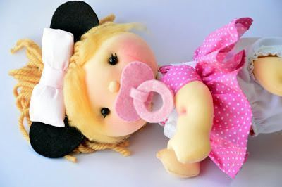 Muñecabebé soft Minnie articulada (2)