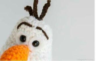 Olaf a crochet con patrón gratis (2)