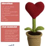 Patrón Planta del amor amigurimi
