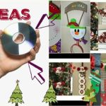 8 Adornos de navidad para hacer con CD