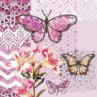 8 Láminas de mariposas para decoupage (1)