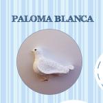 Patrón paloma blanca amigurimi