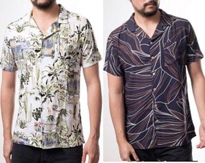 Camisa para hombre con cuello deportivo