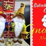 DIY+Moldes gnomo de navidad
