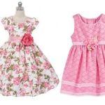 Patrón gratis vestido básico para niña