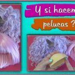 DIY Cómo hacer pelucas para muñecas muy fácil