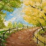 DIY pinta un camino rural (muy fácil)