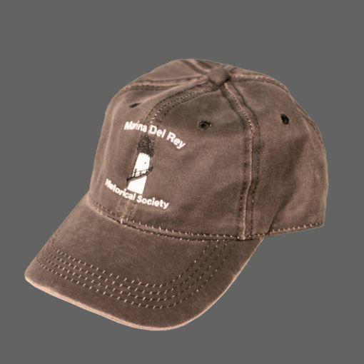 Oiled Brown Baseball Cap
