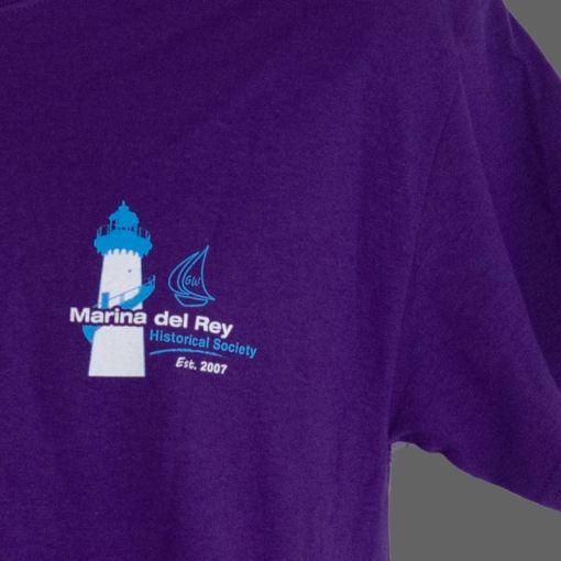 Purple t shirt front