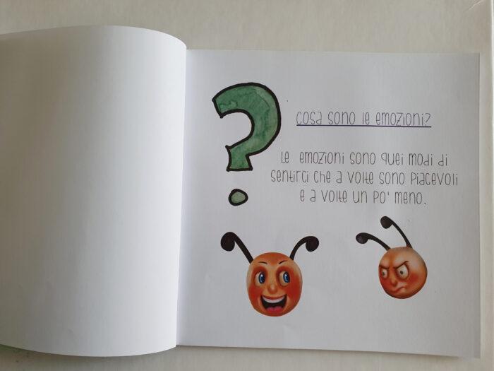 Le emozioni per bambini, libro illustrato e personalizzato