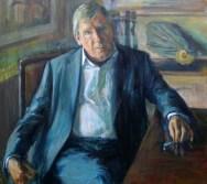 Portrait of Michael Eve. Portrait commission. British artist Marina Kim