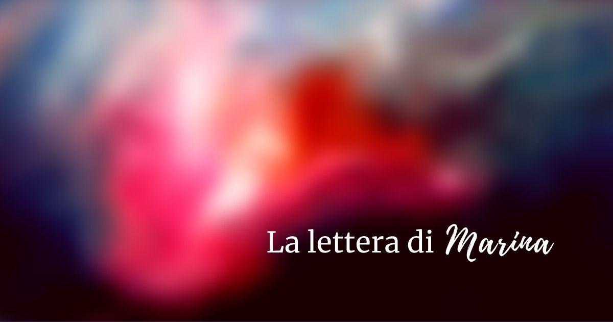La lettera di Marina