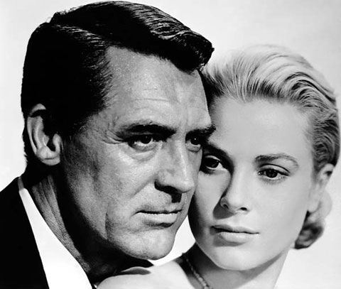 Cary Grant y Grace Kelly