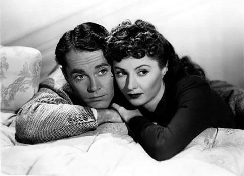 Henry Fonda y Barbara Stanwyck